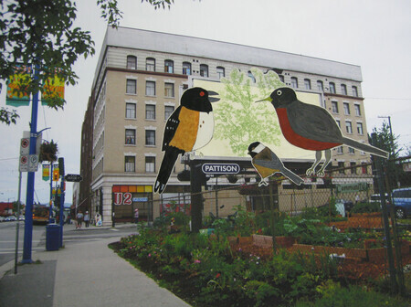 419 Jackson Avenue Community Garden Billboard